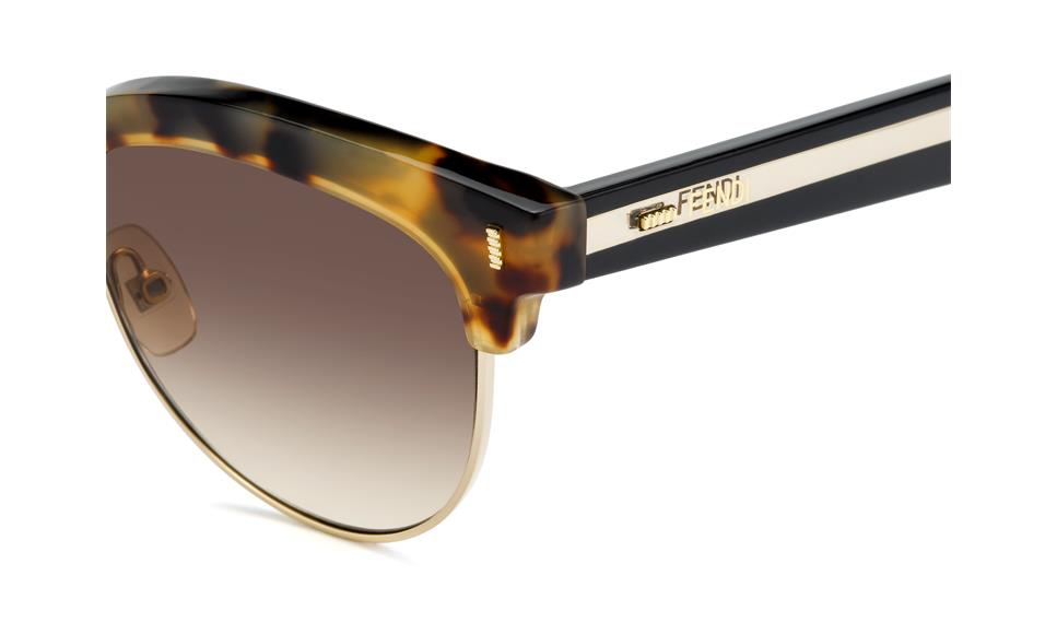 93a217d4229 ... Fendi Color Block Sixteen FF 0154/S UDS (JD) | Ohgafas.com