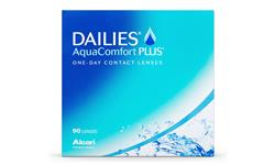 Dailies AquaConfort Plus 90-pack | Ohgafas.com