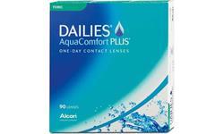 Dailies AquaConfort Plus Toric 90-pack | Ohgafas.com