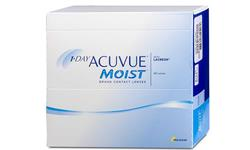 One Day Acuvue Moist 180 pack | Ohgafas.com