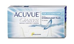 Acuvue Oasys For Astigmatism 6 pack With Hydraclear Plus 6 pack | Ohgafas.com