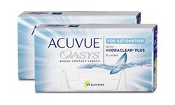 Acuvue Oasys For Astigmatism With Hydraclear Plus 12 pack | Ohgafas.com
