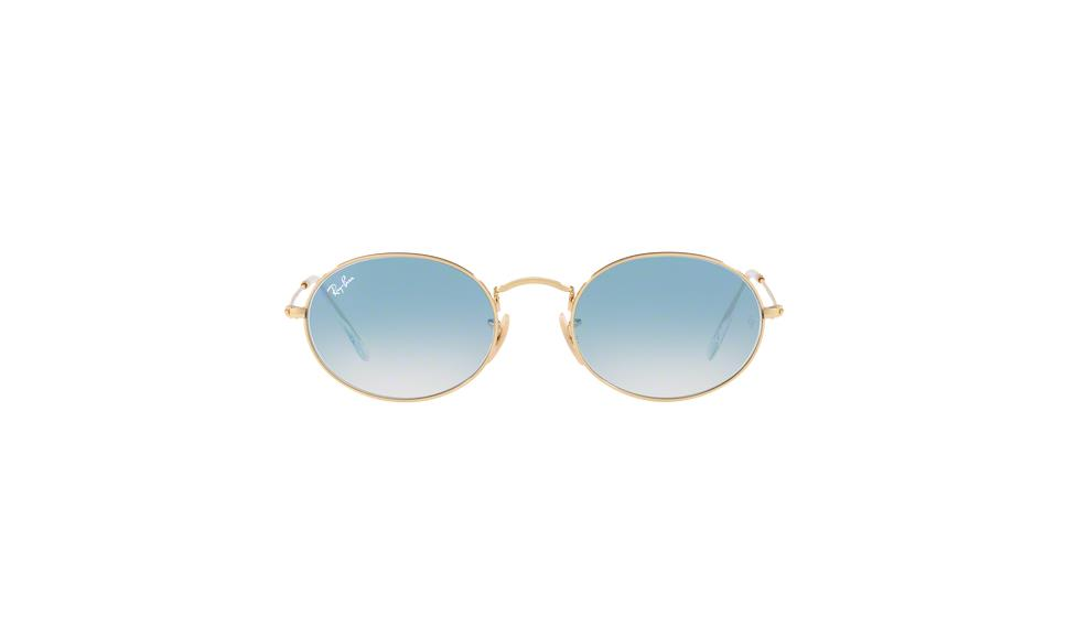 15095a90159 Ray-Ban Oval Flat Lenses RB3547N 001 3F
